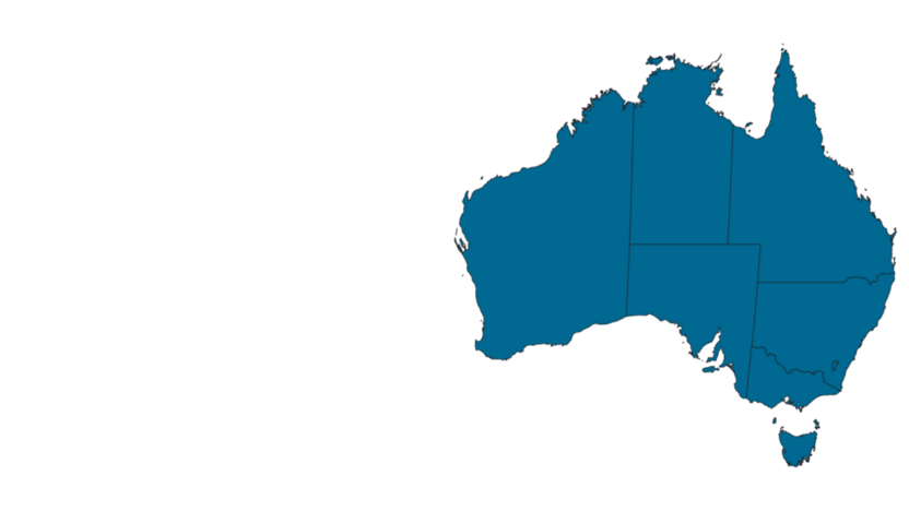 Distributor, sales office, map, AU, Australia