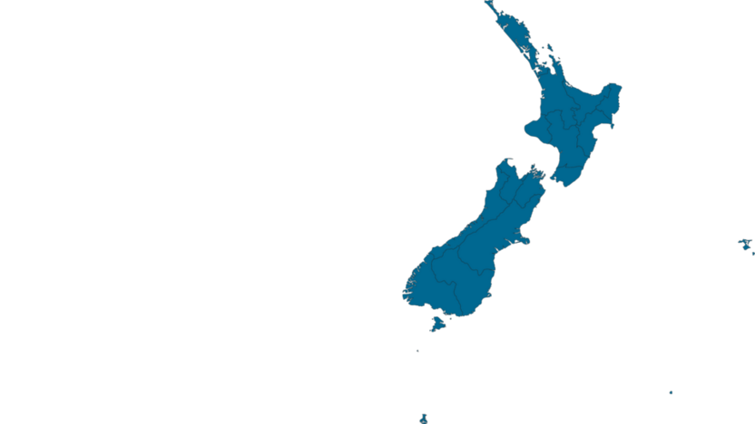 Distributor, sales office, map, NZ, New Zealand